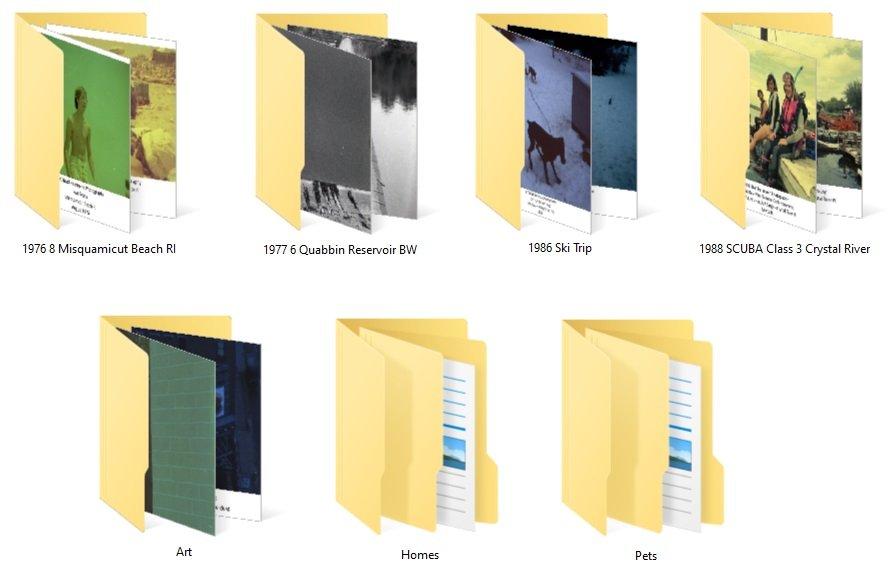 Digital Photo Album Organization