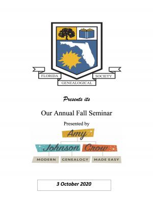 seminar booklet cover